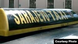 sarajevski taxi, ilustrativna fotografija