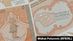 Iz jedne od antikorupcijskih kampanja nevladinog sektora u BiH, 2011.