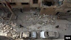 Окрестности Дамаска, Сирия, 13 декабря 2015 года. Иллюстративное фото.