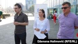 Saša Gavrić, Snježana Ninković Ivandić and Emir Prcanović