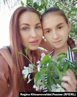 Алия Сайдашева и ее дочь Карина