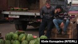 Менск, рынак Ждановічы. Аўтар: Юлія Калодкіна