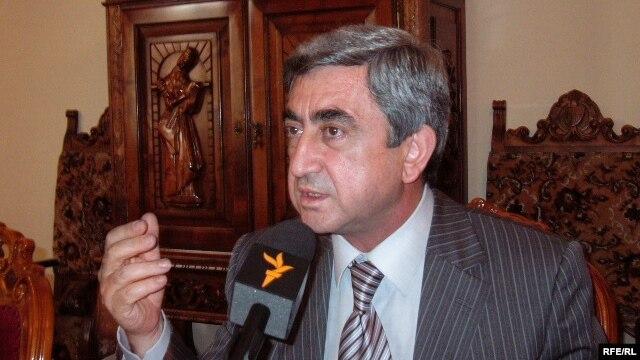 Серж Саргсян, 2009 год