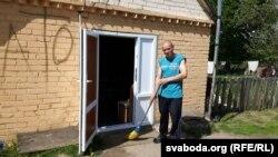 Спадар Васіль дабраўся ў прытулак зь Віцебшчыны