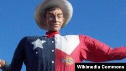 """""""Большой Текс"""" - талисман штата Техас с 1952 года"""