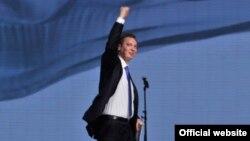 Prvi potpredsednik Vlade Srbije Aleksandar Vučić