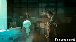 "Кадр из фильма ""Она"""