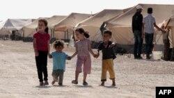 Սիրիացի փախստականների Զաաթրի ճամբարը Հորդանանում
