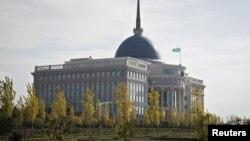 Қазақстан президентінің Астанадағы резиденциясы - Ақорда.