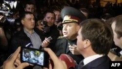Протест Национальной гвардии. Украина