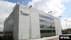Здание штаб-квартиры Радио Свобода/Радио свободная Европа в Праге