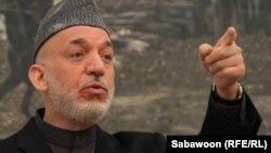 Хамид Карзай Кабулдагы маалымат жыйынында, 14-январь, 2013