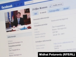 Internet profil člana Predsjedništva BiH Željka Komšića