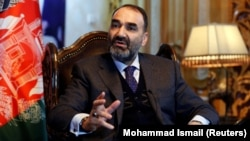Atta Mohammad Noor, the outgoing governor of Balkh Province (file photo)