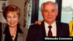 Raisa Gorbacheva və Mikhail Gorbachev