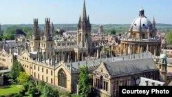 Буюк Британиядаги Оксфорд университети.