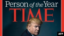 U.S. President-elect Donald Trump poses for photographer Nadav Kander for the cover of Time magazine after being named its person of the year, in a picture provided by the publication in New York on December 7.