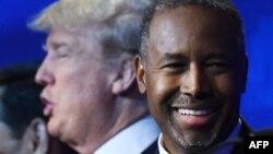 Donald Trump i Ben Carson tokom debate za predsjedničku nominaciju republikanaca u oktobru 2015.