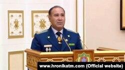 Türkmenistanyň baş prokurory Batyr Atdaýew