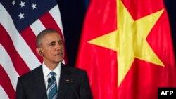 Президент США Барак Обама. Ханой, 23 мая 2016 года.