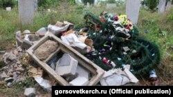 Керченское кладбище, архивное фото