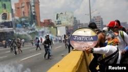 Protestat në Venezuelë