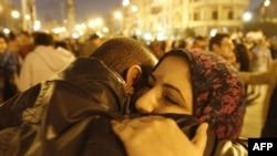 Египтяне ликуют в связи с отставкой Хосни Мубарака