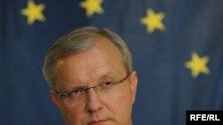 Еврокомесарот за проширување Оли Рен