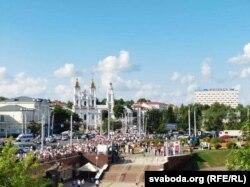Марш Свабоды, Віцебск, 17 жніўня 2020 г.