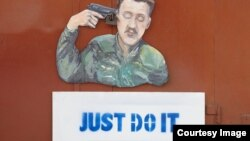Карикатура Сергея Захарова на Игоря Стрелкова-Гиркина