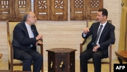 دیدار صالحی و بشار اسد