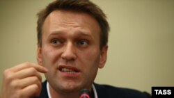 "Aleksei Navalny says the accusations against him have been ""trumped-up."""