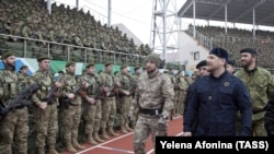 Лідер Чечні Рамзан Кадиров на стадіоні імені Білімханова