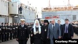 Патриарх Кирилл Северодвинск корылмасында