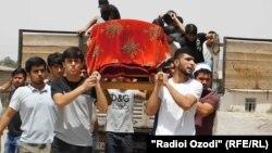 Похороны Хувайды в Кулябе