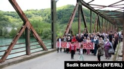Bosnia-Herzegovina - Memory on Bratunac war victimes, Bratunac, 11May2015