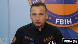 Načelnik Federalnog štaba civilne zaštite Fahrudin Solak
