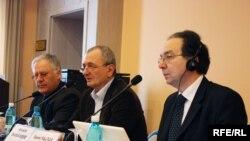 Dumitru Diacov, Arcadie Barbaroşie şi Sami Faltas