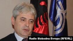 Kryetari i BDI-së, Ali Ahmeti.