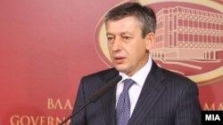 Вицепремиерот за спроведување на Рамковниот договор Муса Џафери