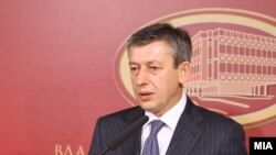 Vice PM, Musa Xhaferi.