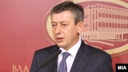 Заменик-претседателот на македонската Влада, Муса Џафери