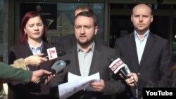 Дополнителниот заменик министер за информатичко општество и администрација, Александар Кирацовски.