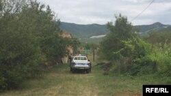 Грузинская полиция осуществляет патрулирование территории села