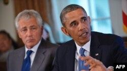 Обама и Хејгел