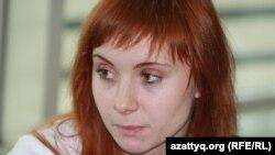 "Василина Ларина, директор проекта ""ЖасКэмп"". Алматы, 13 октября 2012 года."
