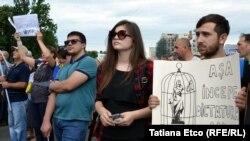 Mesajele protestului de la Chișinău, galerie foto