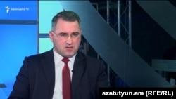 Председатель партии «Наследие» Армен Мартиросян (архив)