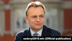 Andriy Sadoviy is the mayor of Lviv, western Ukraine's largest city and the country's sixth-largest.