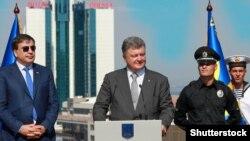 Один із попередніх приїздів президента України Петра Порошенка до Одеси, ілюстраційне фото (©Shutterstock)